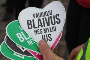 """Dvi dešimtys Vilniaus barų prisidėjo prie akcijos """"Pramogauk saugiai"""""""