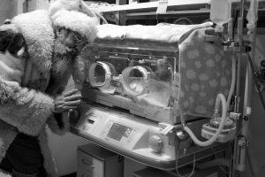 Ankstukus aplankė Lietuvos vyriausiasis senelis Kalėda
