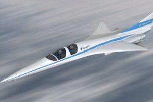 Paskelbta apie pirmąjį viršgarsinio keleivinio lėktuvo prototipo skrydį