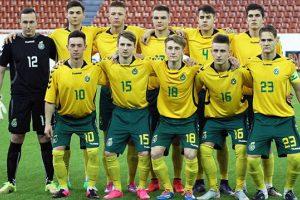 Lietuvos 17-mečių vaikinų futbolo rinktinė varžysis dėl Baltijos taurės