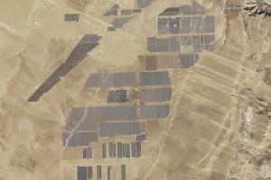 Kinijos energetikos rezultatai gerina rekordus ir jau matomi iš kosmoso