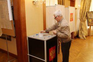 Rinkimuose balsuoja Klaipėdoje gyvenantys Rusijos piliečiai