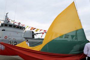 Klaipėdoje vyksta iškilmingi laivų parado renginiai