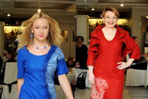 Žinomos moterys pristatė spalvingą kolekciją iš veltinio