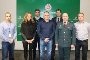 Klaipėdos policijos kriminalistai bendradarbiauja su kolegomis iš Norvegijos