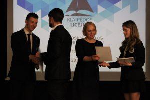 Konferencijoje – Klaipėdos licėjaus moksleivių branda