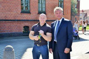 Pasaulio vasaros universiadoje dalyvaus Klaipėdos universiteto sportininkai