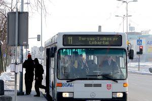 Savaitgalį Klaipėdoje keisis autobusų maršrutai ir tvarkaraščiai