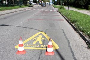Uostamiesčio gatvėse stiprins saugumą
