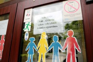 Uostamiesčio abiturientai laikė lietuvių kalbos egzaminą