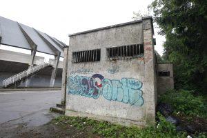 Prie Vasaros estrados grius apleisti tualetai