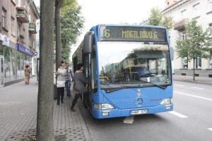 Uostamiesčio autobusai kursuos rudens ritmu
