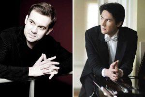 Virtuozų duetas: pianistų J. Božanovo ir K. Uinsko koncertas