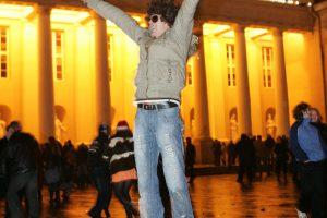 Tyrimas: lietuviai jaučiasi vis laimingesni
