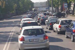 Raudondvario plente – vilkiko ir lengvojo automobilio avarija