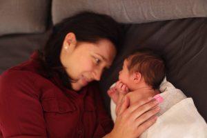 L. Adomaitis su žmona dukrai išrinko lietuvišką vardą