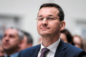 """Tikėtinas naujasis Lenkijos premjeras M. Morawieckis: neįprastas """"lenkų svajotojas"""""""