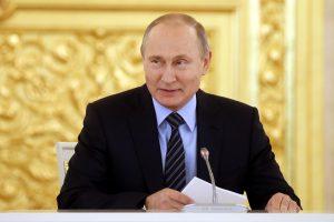 """V. Putinas: """"Nord Stream 2"""" projektas atviras naujiems partneriams"""