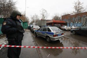 Prie Maskvos sugriuvus pramonės pastatui žuvo mažiausiai trys žmonės