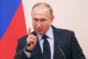 V. Putinas rinkiminei agitacijai turės 4 kartus mažiau laiko nei kiti kandidatai