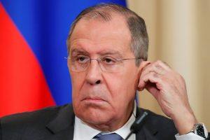 S. Lavrovas smerkia JAV akivaizdų kišimąsi į Venesuelos reikalus