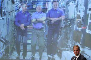 Astronautai iš orbitos nuoširdžiai pasveikino naująjį NASA vadovą