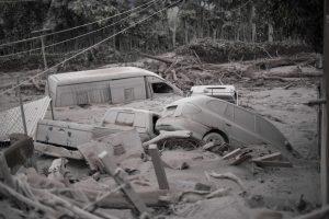Gvatemaloje išsiveržęs ugnikalnis nusinešė daugiau nei 60 gyvybių