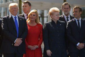 Baltijos šalių prezidentų susitikimas su D. Trumpu: trys svarbiausios temos