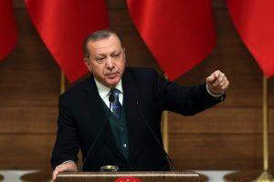 Turkijos prezidentas: JAV turi nedelsiant atšaukti sprendimą dėl Jeruzalės