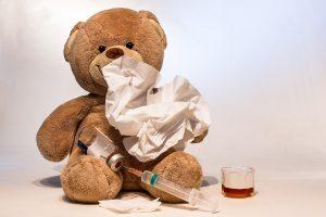 Sergamumas peršalimo ligomis toliau auga: į ligoninę paguldyti trys vaikai
