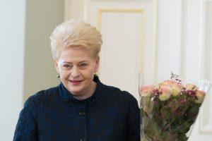Prezidentė Romoje atidarys Lietuvos kultūros festivalį