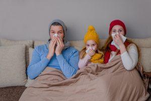 To dar nebuvo: sergamumas peršalimo ligomis jau pasiekė epidemijos lygį