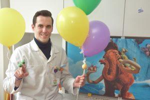 Išsipildė svajonė: vaikams po transplantacijų – reabilitacija virtualioje realybėje