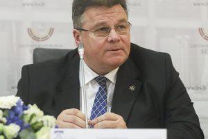 L. Linkevičius ragina ES išplėsti sankcijas Rusijai, užėmusiai ukrainiečių laivus