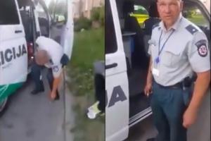 Internautai įsivėlė į aršią diskusiją: kam taip tyčiotis iš policijos pareigūno?