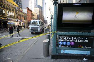 Po sprogdinimo Niujorko metropolitene D. Trumpas pasmerkė tinklinę migraciją
