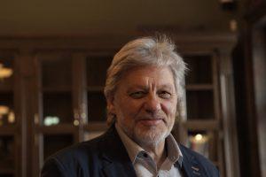 Aktorius V. Rumšas: artistas teatre turi būti žynys