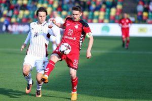 Lietuvos rinktinės futbolininkai: žaidėme gerai, bet neišnaudojome progų
