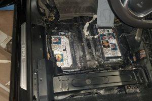 Klaipėdoje sulaikytas rusas kontrabandą slėpė automobilio dugne