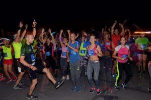 Palydint vasarą – naktinis bėgikų vakarėlis Kaune