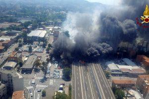 Netoli Bolonijos oro uosto nugriaudėjo smarkus sprogimas: žuvo du žmonės