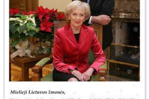 Adamkų šventinis palinkėjimas: saugokime ir branginkime savo Lietuvą!