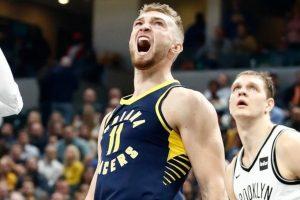 """""""Pacers"""" su D. Saboniu NBA čempionate patyrė nesėkmę"""