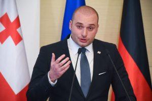Gruzijos premjeras: santykių su Rusija atkūrimas šiuo metu neįmanomas