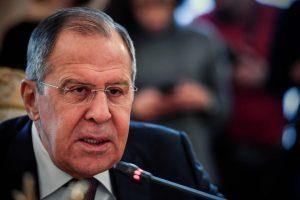 S. Lavrovas: vakarų pastangos paveikti Rusijos politiką neturi perspektyvų