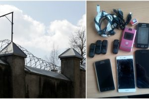 Kratos tęsiasi: Kybartų pataisos namuose rasta beveik 40 mobilių telefonų