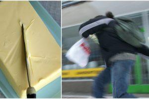 Marijampolėje siautėjo vagys: iš prekybos centro pavogė sviesto už 400 eurų