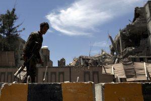 Jemeno sostinėje subombarduota prezidentūra