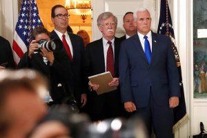 JAV paskelbė sankcijas bendradarbiaujantiems su Irano revoliucinės gvardijos korpusu