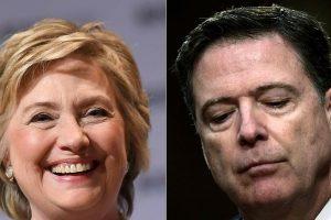 """JAV teisingumo departamentas: H. Clinton tyrimą vykdęs J. Comey elgėsi """"nepaklusniai"""""""
